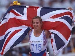 Sally Gunnell Gold Flag