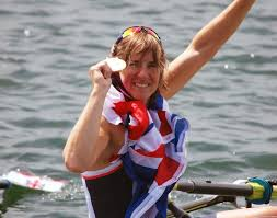 Katherin Grainger & medal