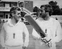 Mike Brearley & Ian Botham