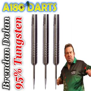 Ultimate Retro? Dolans history making darts. Simple, tungsten, ring grip darts.