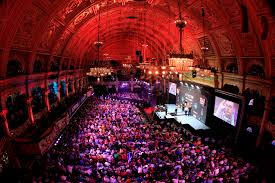 Winter Gardens as dart venue