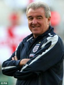 El Tel. Leading England with style in Euro 1996